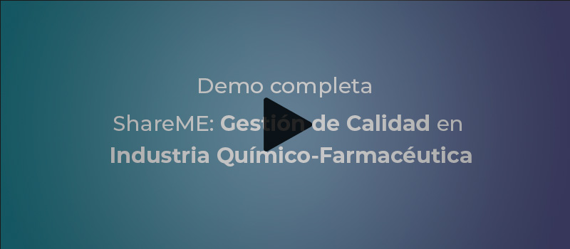 demo shareme industria farmaceutica qms